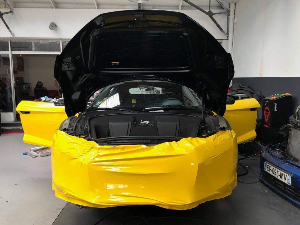 Total covering personnalisé sur Audi R8