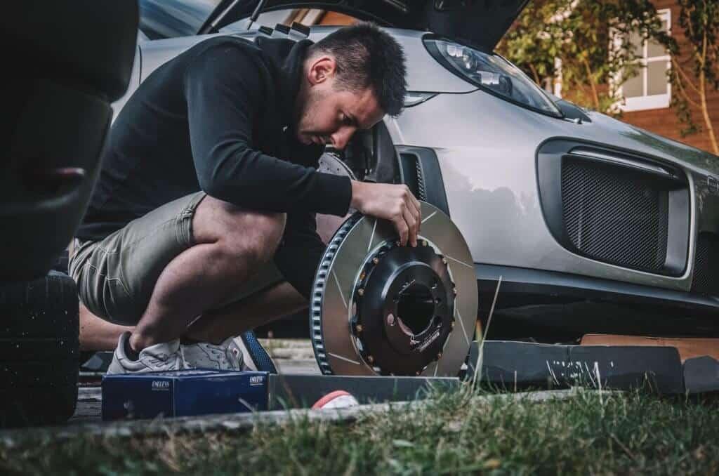 Disque GT2 RS Girodisc montage par armada racing