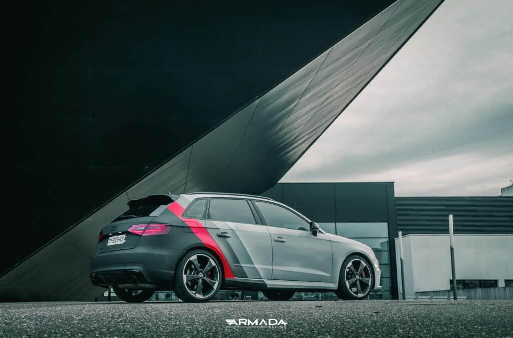 Covering mat sur une Audi RS3 par Armada Racing