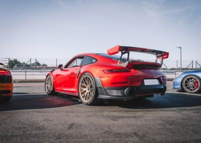 Porsche GT2 RS rouge location baptêmes sensations trackday armada racing