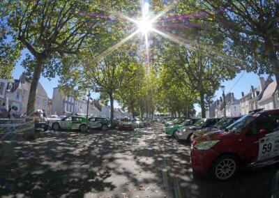 Rallye de saint yrieix 2019 - Parc machine