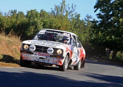 Rallye de saint yrieix 2019 - ford véhicule historique