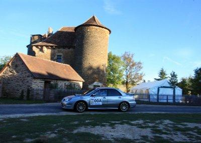 Rallye de saint yrieix 2019 - subaru impreza