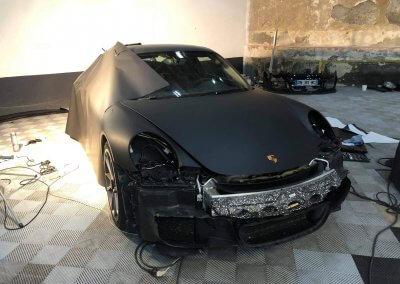 Covering personnalisé Porsche GT3
