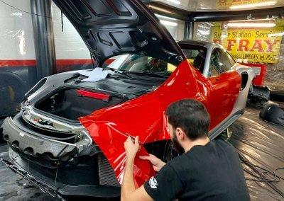 Total covering personnalisé Porsche GT2 RS