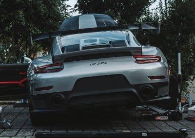 Changement de freins sur porsche GT2 RS